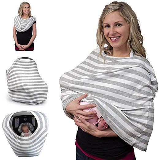Khăn choàng cho bé bú kiểu khăn quàng cổ (The nursing scarf)