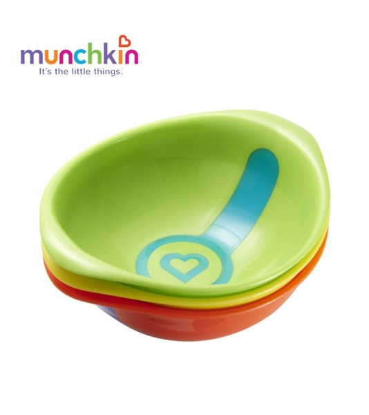 Bát ăn dặm báo nóng Munchkin
