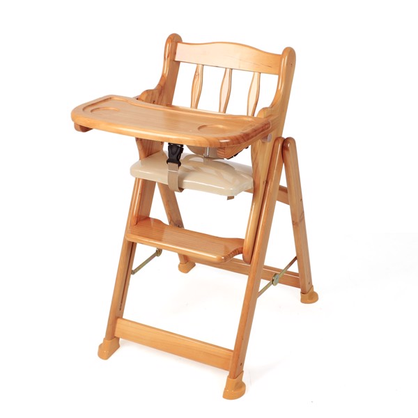 Ghế ăn dặm chất liệu gỗ Autoru
