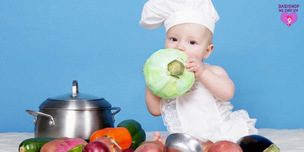 Tập Trẻ Ăn Dặm Giai Đoạn Từ 7 - 8 Tháng Cần Lưu Ý Những Gì 7